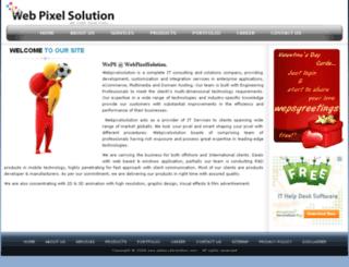 webpixelsolution.com screenshot