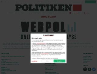 webpol.dk screenshot