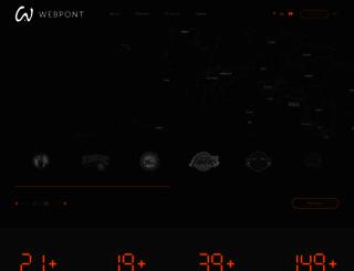 webpont.com screenshot