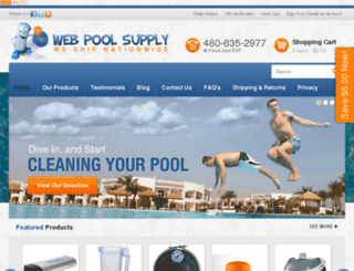 webpoolsupply.com screenshot
