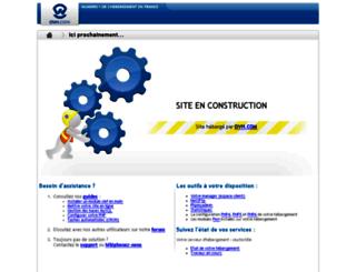 webproject.fr screenshot