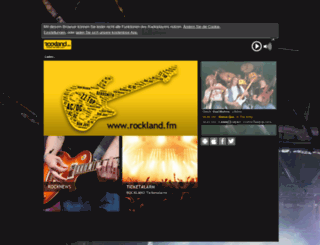 webradio.rockland-digital.de screenshot