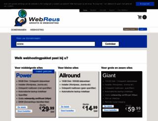 webreus.nl screenshot