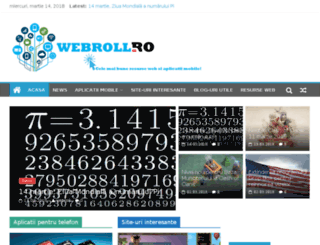webroll.ro screenshot