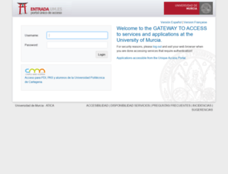 webs.um.es screenshot