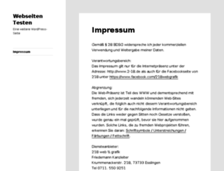 webseiten-testen.de screenshot