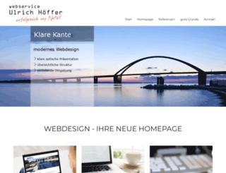 webservice-hoeffer.de screenshot