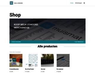 webshop.welklidwoord.nl screenshot