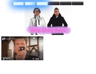 webshopboys.hu screenshot