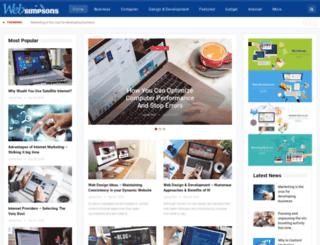 websimpsons.com screenshot