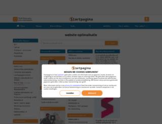 website-optimalisatie.startpagina.nl screenshot