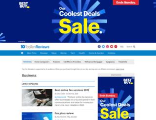 website-template-service-review.toptenreviews.com screenshot