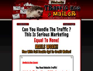 website-traffic-hog.com screenshot