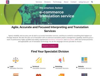 website-translation-services.co.uk screenshot