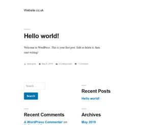 website.co.uk screenshot