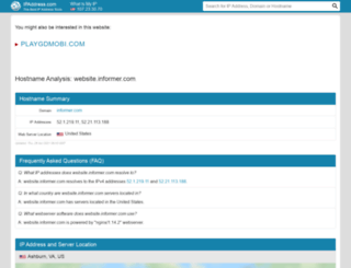 website.informer.com.ipaddress.com screenshot
