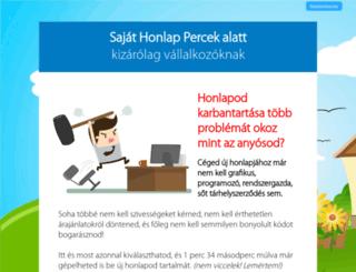 website.shp.hu screenshot