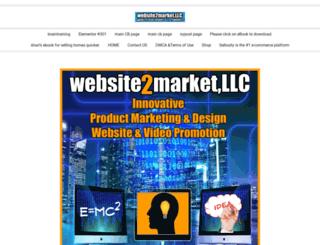 website2market.com screenshot
