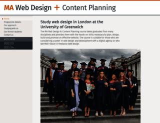 websitearchitecture.co.uk screenshot