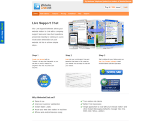 websitechat.net screenshot
