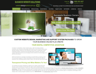websitedesigncentre.com.au screenshot