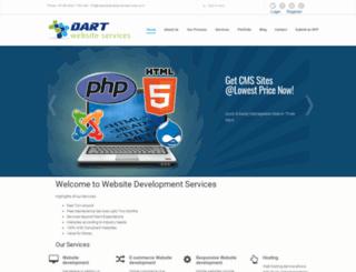 websitedevelopmentservices.co.in screenshot