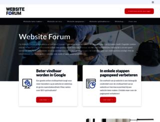websiteforum.nl screenshot
