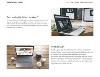 websitelatenmaken.be screenshot