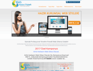 websiteleripaketi.com screenshot
