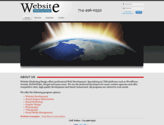 websitemarketingdesign.com screenshot
