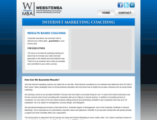 websitemba.com screenshot