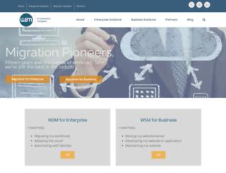 websitemovers.com screenshot