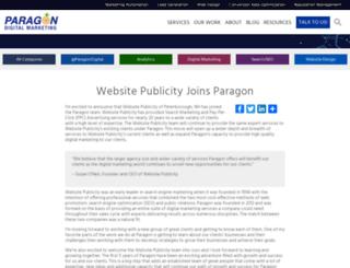 websitepublicity.com screenshot