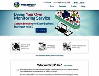 websitepulse.com screenshot