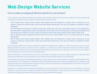 websiteservicesindia.com screenshot