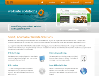 websitesolutions.com screenshot