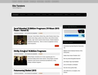 websitetanitimi.blogspot.com screenshot