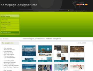 websitetemplates.homepage-designer.info screenshot