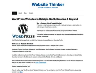 websitethinker.com screenshot