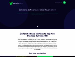 websitevision.co.uk screenshot