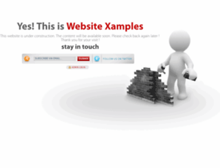 websitexamples.com screenshot