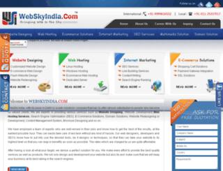 webskyindia.com screenshot