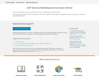 websmp107.sap-ag.de screenshot
