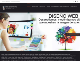 websmuybaratas.com screenshot