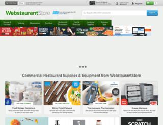 webstaurant.com screenshot