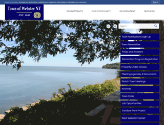 websterny.org screenshot