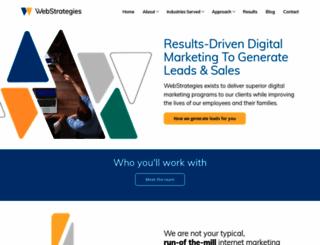 webstrategiesinc.com screenshot