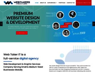 webtakersit.com screenshot