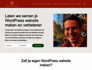 webtalis.nl screenshot