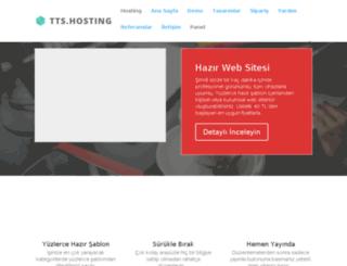 webtasarim.ttshosting.com.tr screenshot